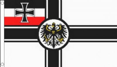 Germany WWI Imperial Crest 5'x3' (150cm x 90cm) Flag
